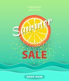 Summer sale background layout for banners,Wallpaper,flyers, invitation, posters, brochure, voucher discount.Vector illustration royalty free illustration