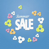 Summer sale background Stock Images