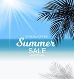 Summer Sale Background Vector Illustration Stock Photo