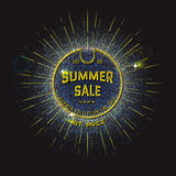 Summer sale badges logos and labels for any use Stock Photography