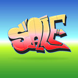 Summer sale banner Royalty Free Stock Photo