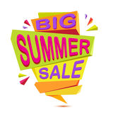 Summer sale banner Stock Images