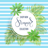 Summer sale banner Stock Images