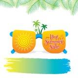 Summer sale banner design. Hot summer sale template poster design Stock Photo
