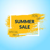 Summer Sale banner. Stock Image
