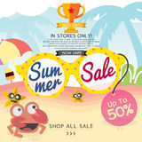 Summer Sale Banner. Stock Images