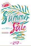 Summer Sale beautiful background Stock Photo