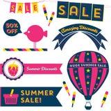 Summer Sale Clip Art Stock Images