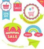 Summer Sale Clip Art Royalty Free Stock Photo