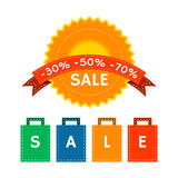 Summer Sale Collection Royalty Free Stock Image