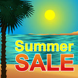 Summer sale Concept. Stock Image
