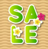 Summer sale concept background Stock Photos