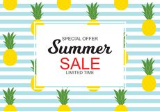 Summer Sale concept Background. Vector Illustration. EPS10 Stock Photo