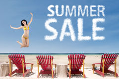 Summer sale concept 1 Stock Photography