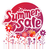 Summer sale. Concept vector illustration Stock Images