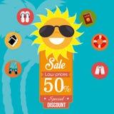 Summer sale deals Stock Photo