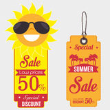 Summer sale deals Royalty Free Stock Photography