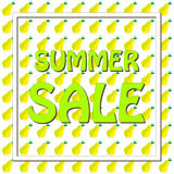 Summer sale. Royalty Free Stock Photo