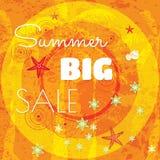 Summer sale design template Stock Photos