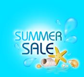 Summer Sale Royalty Free Stock Images