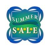 Summer sale label vector illustration