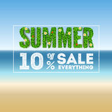 Summer sale. Royalty Free Stock Image