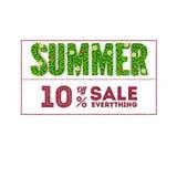 Summer sale. Stock Photo