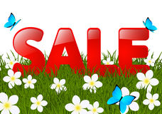 Summer sale message Royalty Free Stock Photos