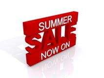 Summer sale now on Stock Photos