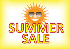 Summer Sale Poster. Vector illustration of summer sale poster Royalty Free Stock Image