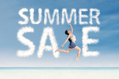 Summer sale promotion 1 Royalty Free Stock Images