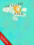 Summer sale Stock Photography