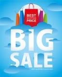 Summer sale shopping bag Stock Photo