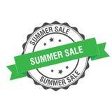 Summer sale stamp illustration. Summer sale stamp seal illustration design Stock Photo