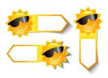 Summer Sale Stickers Stock Photos