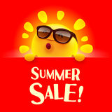 Summer Sale! Royalty Free Stock Photography