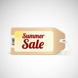 Summer sale tag. Royalty Free Stock Photo