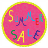 Summer sale template,  summer fashion sale,  summe Royalty Free Stock Images