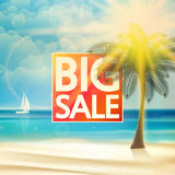 Summer sale Tourism Badge. Royalty Free Stock Images