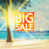 Summer sale Tourism Badge. Royalty Free Stock Photos
