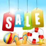 Summer sale Royalty Free Stock Photography