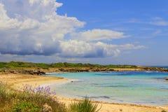 SUMMER Salento coast: Lido Marini beach (Lecce). ITALY (Apulia). Royalty Free Stock Images