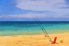 SUMMER Salento coast: Pescoluse beach (Lecce). ITALY (Apulia). Stock Image
