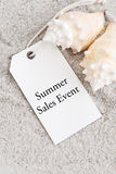Summer Sales Event Stock Image