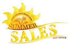 Summer Sales image. Royalty Free Stock Photos