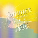 Summer sales Royalty Free Illustration