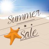 Summer sales Vector Illustration