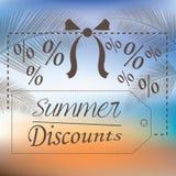 Summer sales Royalty Free Stock Photo