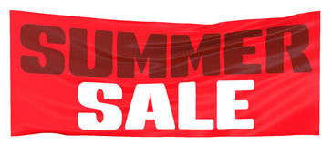 Summer sales, sales, banner Stock Images