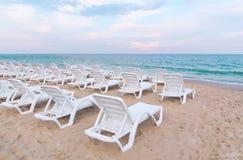 Summer sand beach. Stock Photo